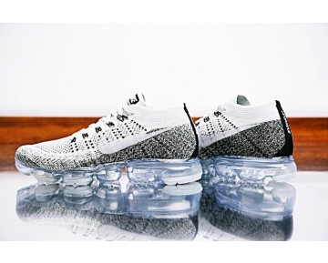 Nike Air Vapormax Flyknit Oreo Schwarz Weiß Herren 899473-002 Schuhe