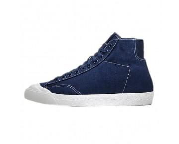488493-401 Herren Nike X Fragment Design Zoom All Court 2 Mid Tz Schuhe Marine Blau Weiß
