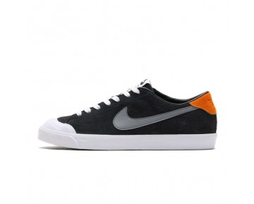 Schwarz/Grau/Orange Schuhe 806306-008 Unisex Nike Sb Zoom All Court Cory Kennedy