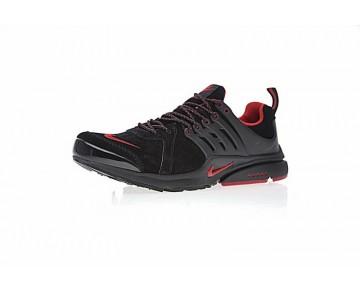Nike Air Presto Qs Schwarz/Rot Schuhe 836670-006 Unisex