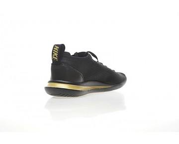 Schwarz/Gold Nike Cortez Flyknit Aa2029-103 Herren Schuhe