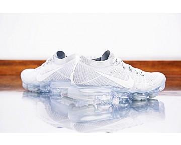 Nike Air Vapormax Flyknit 849558-004 Pure Platinum/Weiß Unisex Schuhe
