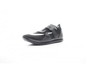Schwarz/Weiß Unisex  Nike Air Sock Racer Ultra Flyknit Big Swoosh 904580-001 Schuhe