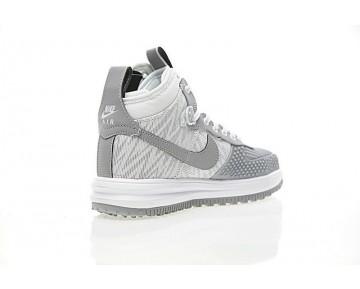 Schuhe Nike Lunar Force 1 Duckboot Weiß/Grau/Lichtning Herren 805899-207