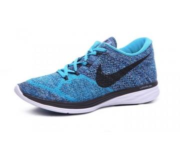 Multi/Blau/Schwarz 40-45 Herren Nike Flyknit Lunar 3 Schuhe