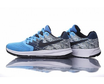Nike Zoom Winflo 4 Schuhe 898466-006 Herren Sky Blau/Schwarz/Weiß