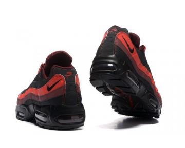 Schwarz Rot Nike Air Max 95 Essential Herren Schuhe 749766-600