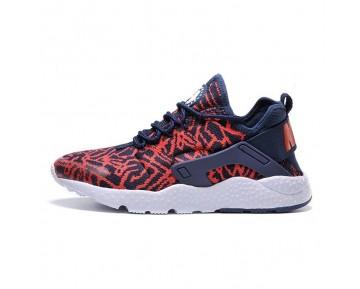 Blau/Universität Rot Nike Wmns Air Huarache Run Ultra Knit Jacquard Schuhe Unisex 818061--400