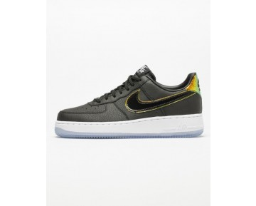 Schwarz Multicolor Unisex Schuhe Nike Wmns Air Force 1 '07 Premium 616725-007