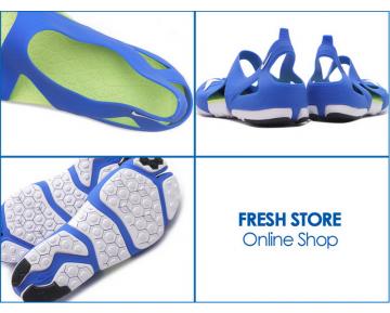 Nikelab Free Rift Sandal Sp Blau Grün Weiß Schuhe 725001-417 Unisex