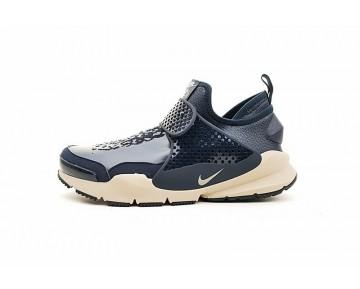 Herren Schuhe Stone Island X Nikelab Sock Dart Mid 910090-400 Tief Blau/Gelb