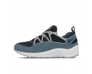 306127-040 Herren Schuhe Nike Air Huarache Light Charcoal/Blau