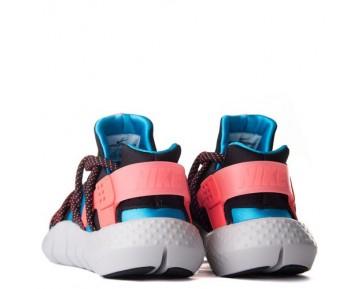 Herren Schuhe 705159-400 Lagoon Blau/Orange Nike Huarache Nm