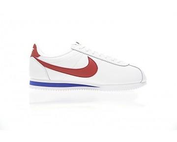 902801-100 Weiß/Blau/Rot Schuhe Unisex Nike Classic Cortez Se Og Xlv 45