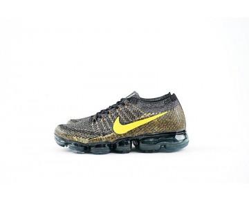 Herren Schwarz/Gold 849560-009 Schuhe Nike Air Vapormax Black