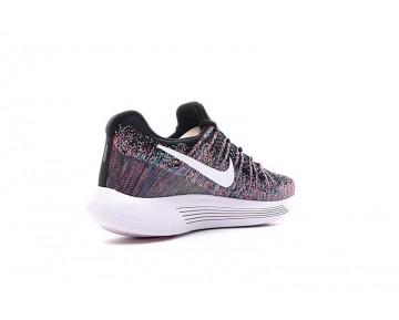 Rosa/Schwarz/Rainbow Schuhe Herren 863779-006  Nike Lunarepic Low Flyknit 2