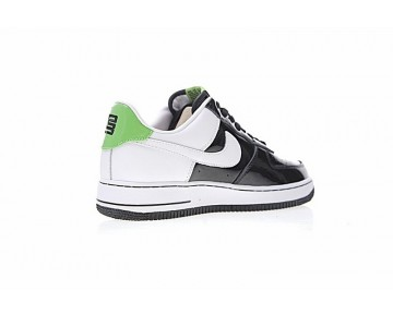 311729-052 Unisex Nike Air Force 1 Af1 Self-Doubt Schuhe Schwarz Weiß Grün