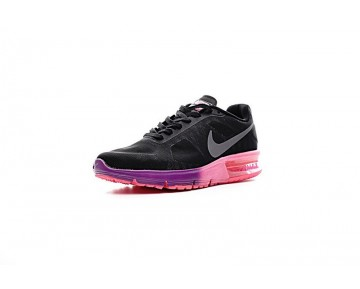 719916-015 Schuhe Nike Air Max Sequent  Damen Schwarz/Rosa/Lila