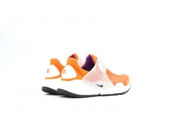 819686-022 Schuhe Damen  Nike Sock Dart Id Orange/Gray/Weiß/Lila