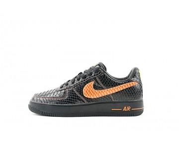 Vlone X Nikelab Air Force 1 Surgeon Schuhe Schwarz Orange Herren 315122-011