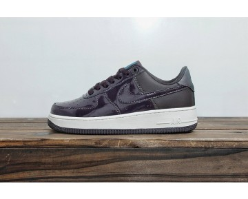 Nike Women'S Air Force 1 Se Premium Schuhe Lila Blau Ah6827-600 Damen