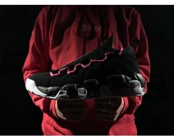 Schuhe Aj7383-001 Sneaker Room X Nike Air More Money Qs Replaceable Tongue Schwarz Rosa Unisex