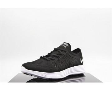 Schuhe Nike Flyknit Lunar Htm Nrg Herren Schwarz/Weiß 535089-090
