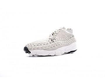 Licht Grau Nike Air Footscape Woven Chukka Qs 913929-002 Herren Schuhe
