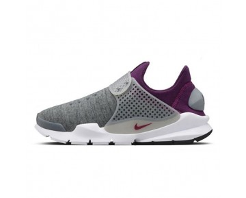 Unisex Nike Sock Dart Tech  Fleece Schuhe Grau,Mulberry 834669-006
