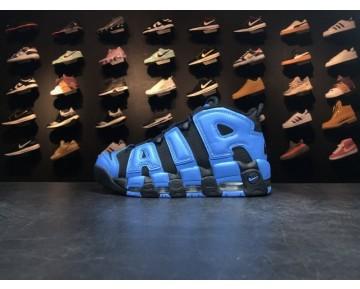 Nike Air More Uptempo Og Blau Schwarz 921948-040 Unisex Schuhe