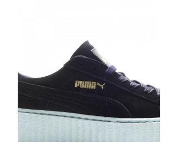 Damen Puma X Rihanna Creeper & Peacoat 361005-05 Schwarz Schuhe