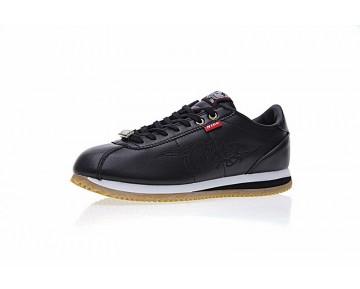 Unisex Mister Cartoon X Nike Cortez Basic Qs Embroidery Schwarz Aa4875-001 Schuhe