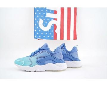 Damen Schuhe Nike Air Huarache Run Ultra Print Blau Gradient 833292-401