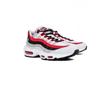 Nike Air Max 95 Schuhe 749766-601 Universität Rot Weiß Unisex