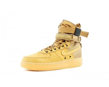 806403-200 Golden/Beige Unisex Nike Special Field Air Force 1 Schuhe