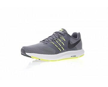 908989-007 Herren Nike Run Swift Dunkel Grau/Lime Grün Schuhe