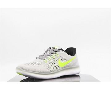 Nike Free Rn Schuhe Gray Grün 831509-003 Unisex