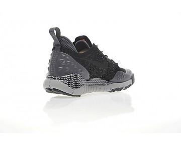 Nikelab Acg Lupinek Flyknit Low Schuhe Herren 853954-001 Grau/Schwarz