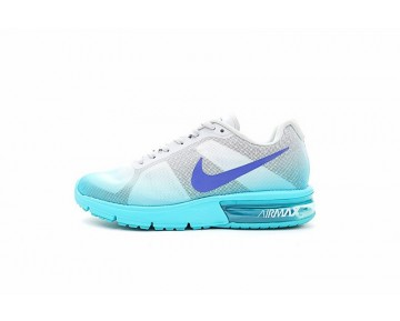 Damen 719916-009 Nike Air Max Sequent  Schuhe Ice Blau/Weiß