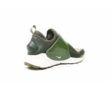 Schuhe Unisex Stone Island X Nikelab Sock Dart Mid 910090-300 Army Grün