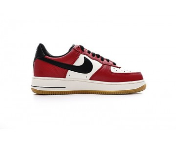 Chicago Weiß Rot Nike Air Force 1 Lowgo 820266-600 Unisex Schuhe
