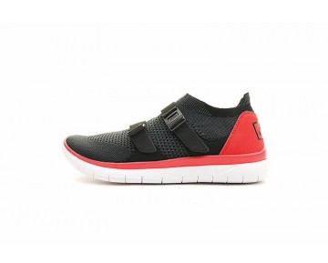 Schwarz/Grau/Rot/Weiß Unisex  Nike Air Sock Racer Ultra Flyknit Schuhe 898022-400