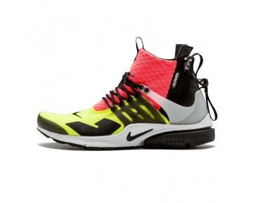 [emailprotected] X Nike Air Presto Mid Schuhe Herren Whitweiß/Schwarz-Hot Lavae/Schwarz-Hot Lava 844672-100