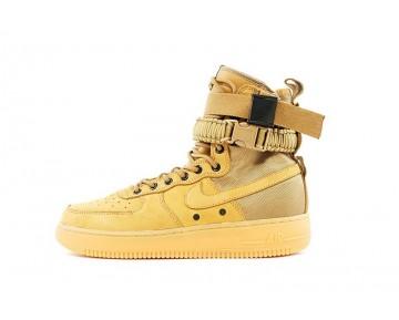 806403-200 Golden/Beige Unisex Nike Special Field Air Force 1 Schuhe