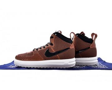 Schuhe Herren Nike Lunar Force 1 Duckboot 805899-403 Braun/Schwarz/Weiß