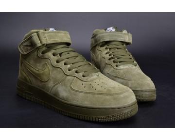 315123-302 Olive Grün Schuhe Unisex Nike Air Force 1 High