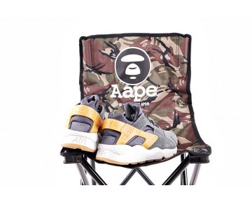 318429-09 Herren Braun Nike Air Huaracheracite Schuhe