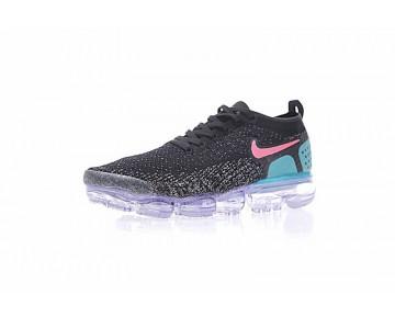 Unisex Schuhe Nike Air Vapormax Flyknit 780464-852 Schwarz/Blau/Rosa