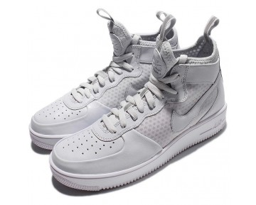 864025-002 Nike Air Force 1 Ultraforce Mid Schuhe Weiß Unisex