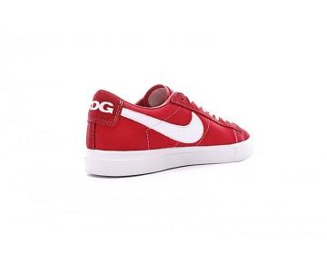 Nike Blazer Low X Comme Des Garcons Cdg Unisex Schuhe 633699-009 Rot/Weiß